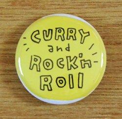 画像1: かわいしのぶ 『バッヂ ☆ CURRY and Rock'nRoll』