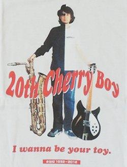 画像2: 水谷紹 20周年記念Tシャツ『20th Cherry Boy』